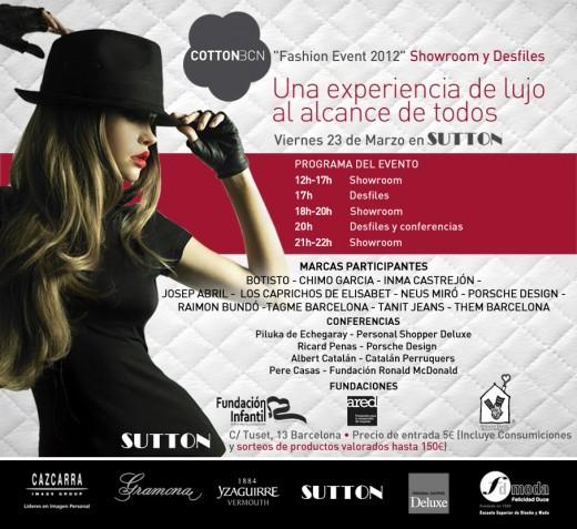 Cotton Bcn Fashion Event 2012